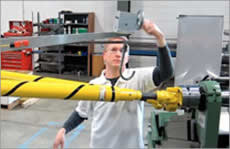 Interactive drive shaft support