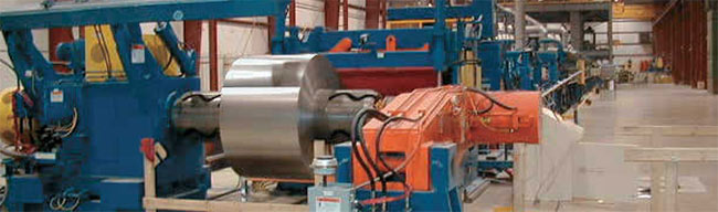 high speed coil processing lines