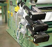 GFG Coating Head Control System Electro-Mechanical Actuator