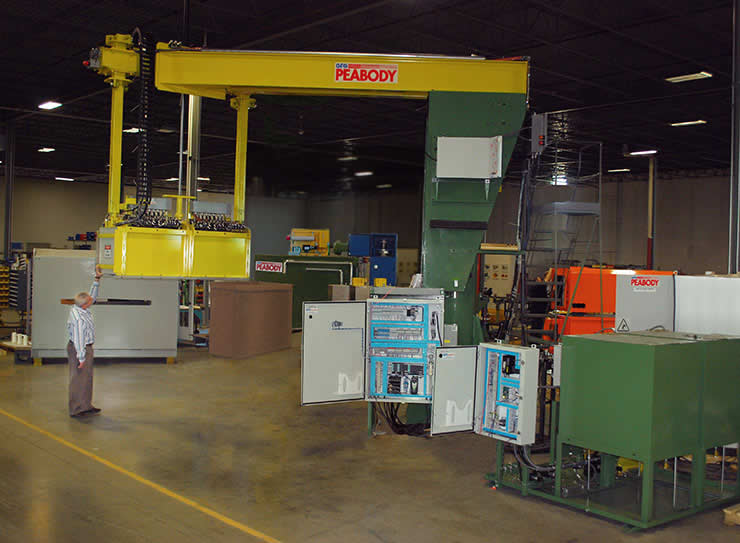 image of GFG Peabody Temper Mill Oiler for coil processing